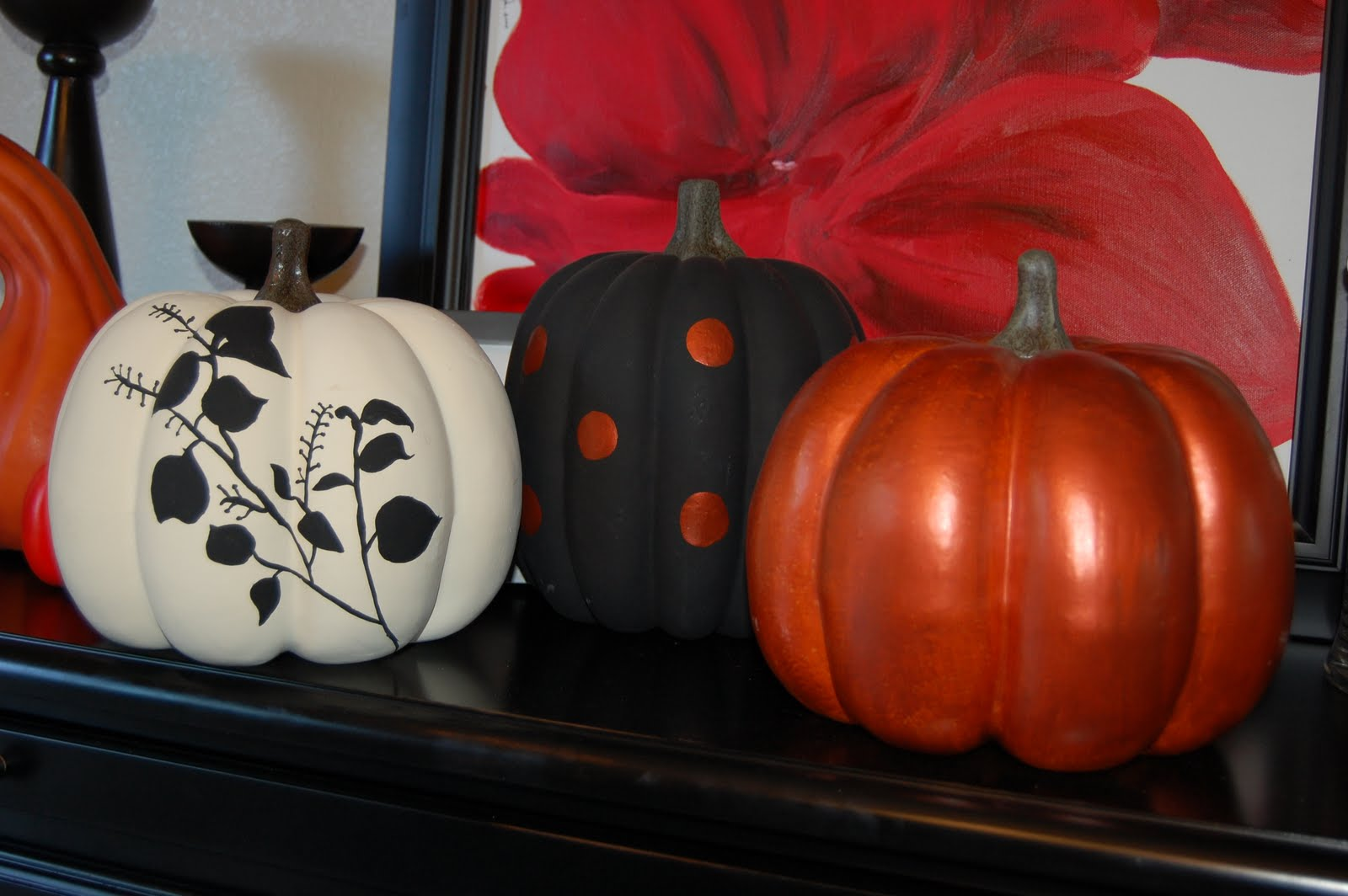 9 O 39 Clock Dance Of Joy Painted Pumpkins