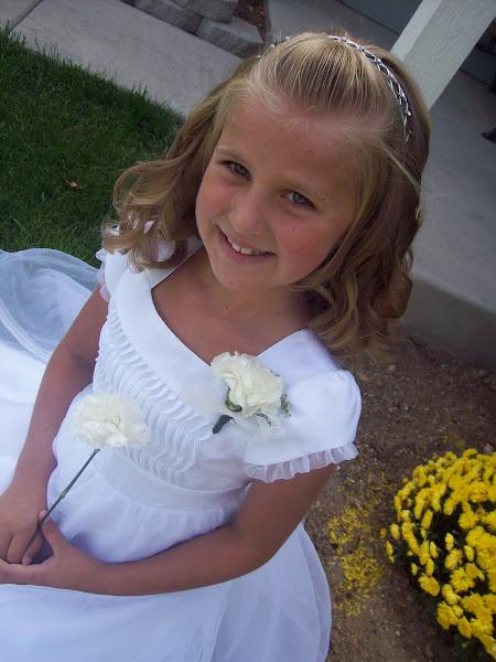 Kylah's Baptism Day-September 5, 2009