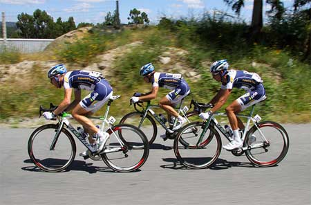 A Professional Cyclist in Portugal