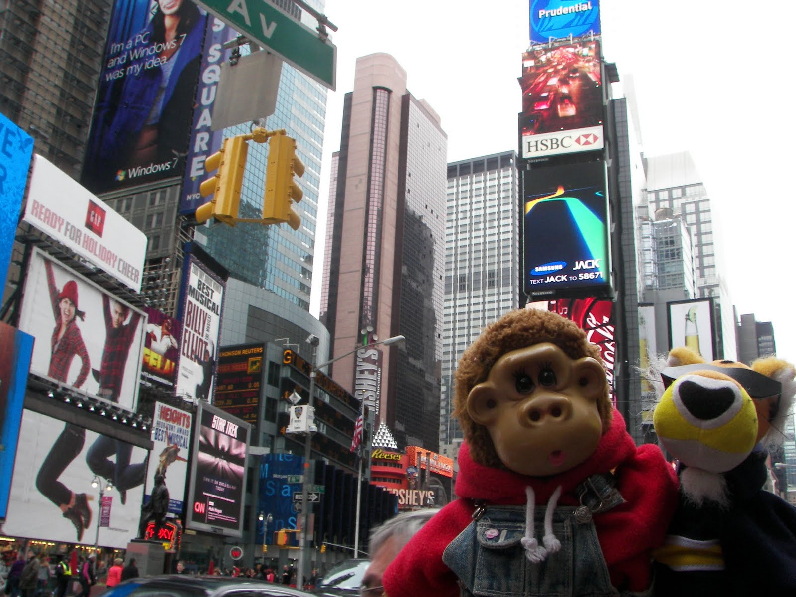 Holy Rob Bloom - Age 5: times square!