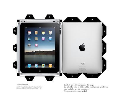 paper ipod touch template