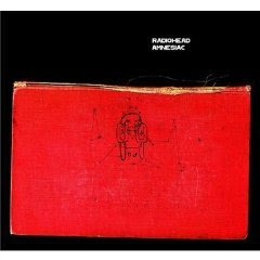 Radiohead - Amnesiac (album cover)