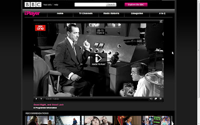 BBC iPlayer: Good Night, and Good Luck