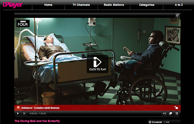 The Diving Bell And The Butterfly (BBC iPlayer)