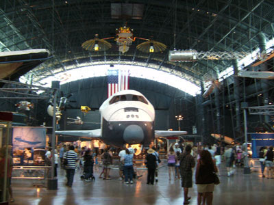 McDonnell space hanger view