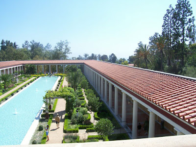 Garden at the Getty Villa