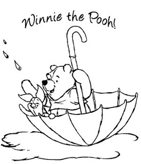 Free Winnie the Pooh Coloring Sheets