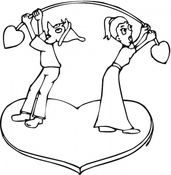 valentine printable coloring pages. Posted by Coloring Sheets at