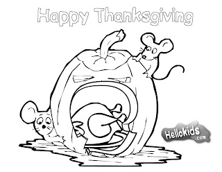 free happy thanksgiving coloring sheet
