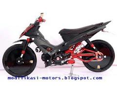 Modif Yamaha Vega Garang Dengan Kombinasi Warna