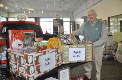 The Gorge Heroes Club Griffith Motors Collects Toys For Oregon National Guard Children