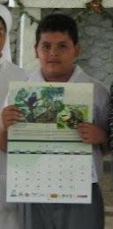 Diego Martin Garcia Gonzales, ganador de Tarapoto