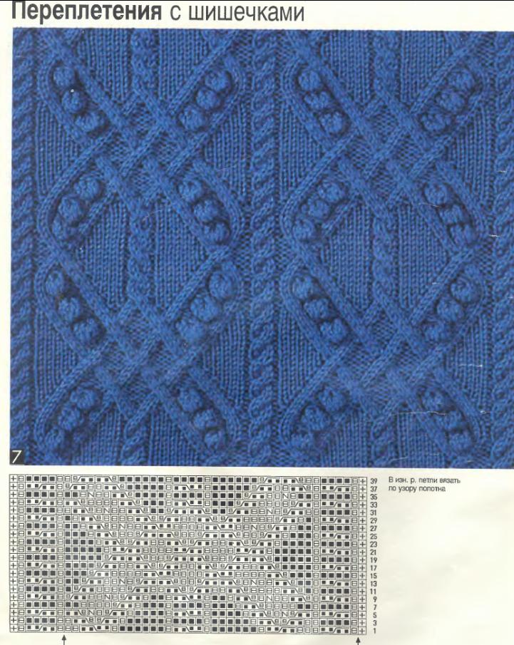 орнаменты вязания спицами | Это изображение также