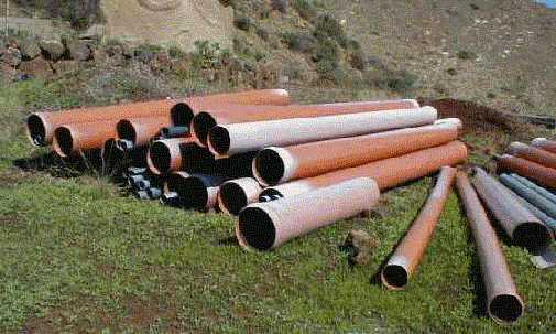 pvc rigido: tubos