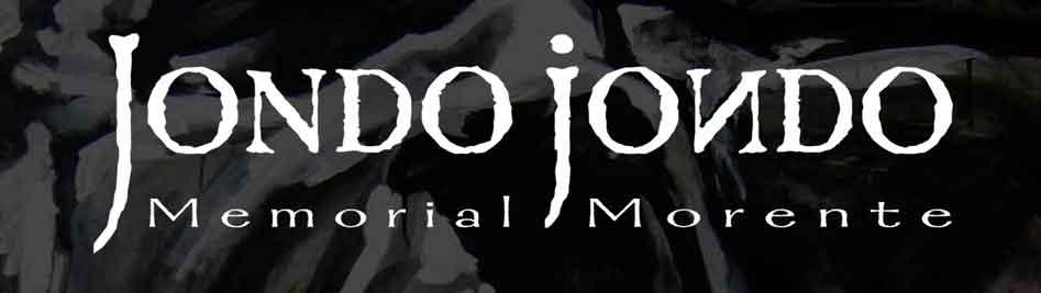 """JONDO JONDO """"Memorial Morente"""""""