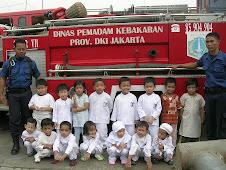Kunjungan ke Tempat Pemadam Kebakaran - Condet, Jakarta Timur