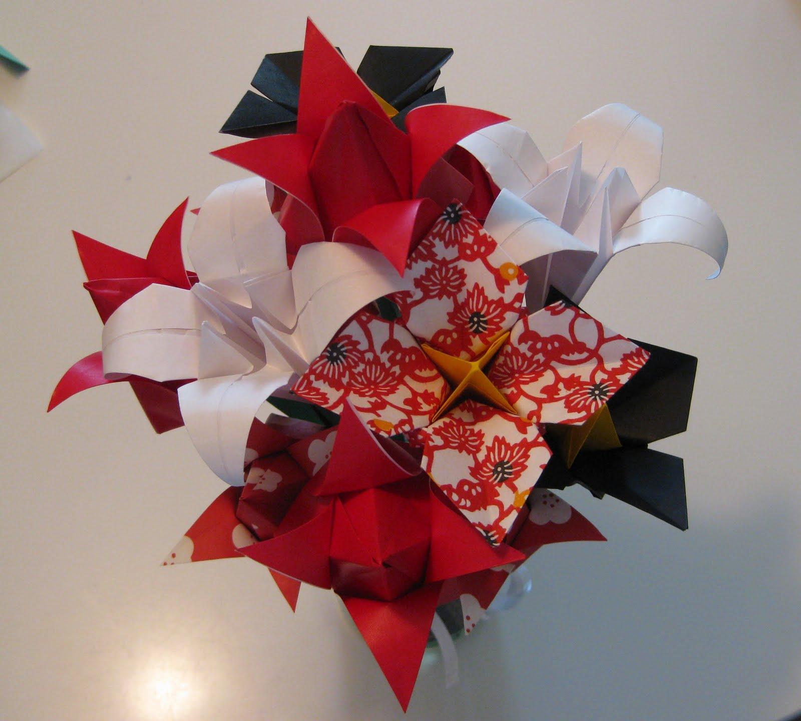 Amys Origami Flowers Origami No Hana