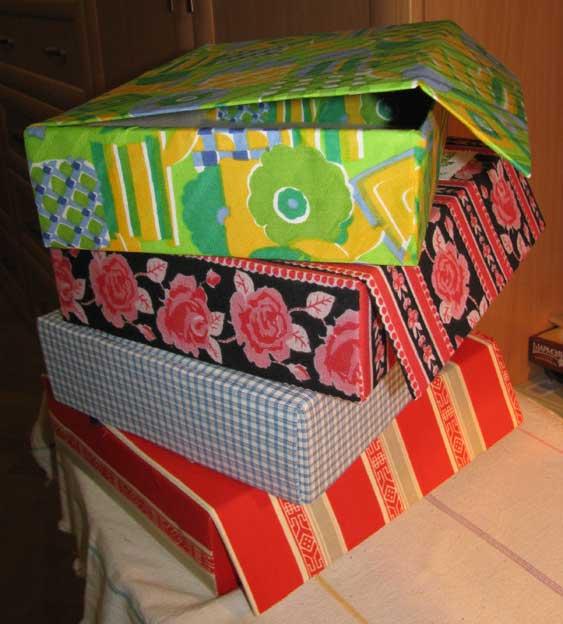 как обшить коробку тканью мастер класс видео<br />