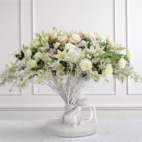 Wedding Altar Centerpieces: Kelowna Florist BC Wedding Flowers: Altar Arrangements