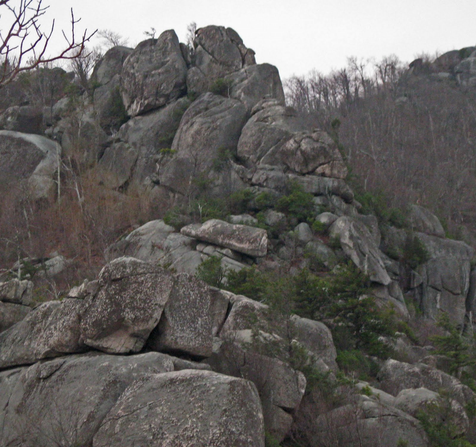 Old Rag Mountain Hikes/Patrols By RSL: Trail Patrol Again