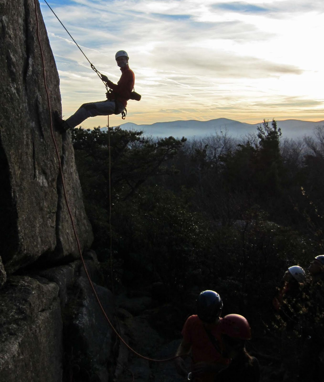 Old Rag Mountain Hikes/Patrols By RSL: November 2010
