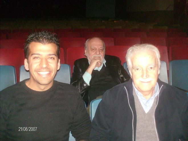 """Carlos Gorostiza y Roberto """"Tito"""" Cossa"""