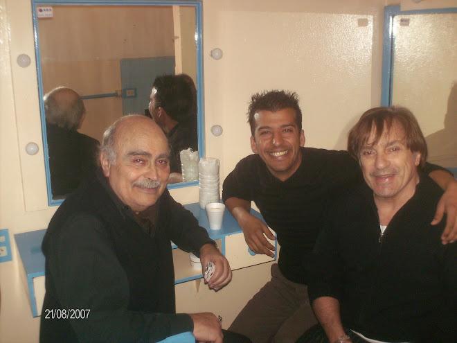 Pepe Novoa y Antonio Grimau
