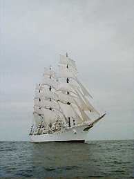 Fragata Libertad en mer