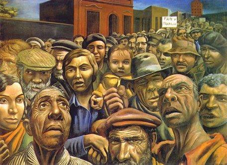 La manifestación/1934