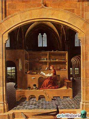 San Geronimo en su estudio/1475