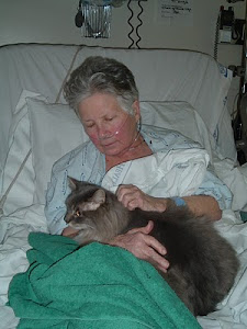 Timothy visits Mom in hospital!