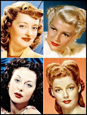 1950s hair and makeup