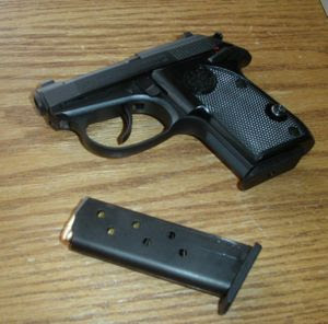 small hand gun 22