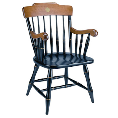 The Yale Chair And Rocking Chairs Are Distinguished, Handcrafted, Made Of  Solid Maple Wood, Custom Assembled With Gold Medallion In Back Panel And  Feature ...