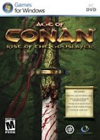 Age of Conan: Rise of the Godslayer, box, art, cover, pc, game, screen