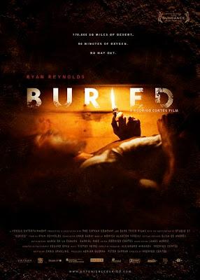 Buried, movie, poster