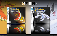 Pokemon Heart, Gold, Silver, cover, image, Nintendo, DS, screen