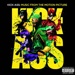Kick-Ass, Movie, Soundtrack, cd, cover
