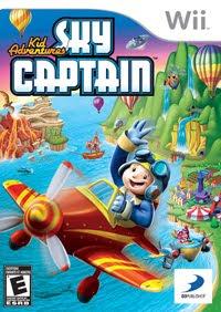 Kid Adventures: Sky Captain, nintendo, wii,game, cover, box, art