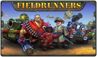 Fieldrunners, game, screen, image, cover, mobile, phone