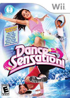 Dance Sensation, cover, box, art, image