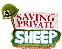 Saving Private Sheep, iphone, ipod, game, screen, cover, image