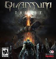 Quantum Theory, xbox, game, screen, box, art