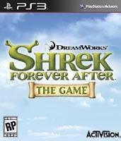 Shrek Forever After, game, ps3, box, art, image, screen