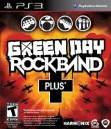 Green Day, Rock Band Plus, game, box, art, cover, image
