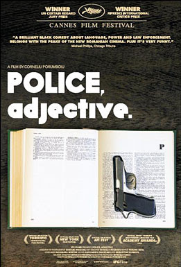 Police Adjective,movie, film, poster