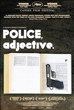 Police Adjective,movie, film, poster