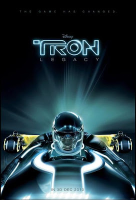 Tron Legacy, movie, poster