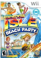 Vacation Isle, Beach Party, nintendo, wii, game