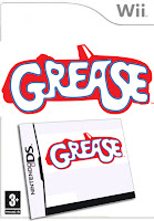 Grease, nintendo, wii, game, box, art
